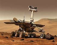 Space Rovers On Mars