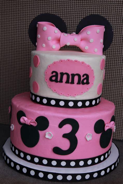 the cake box girls: Minnie Mouse 3rd birthday cake