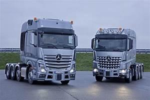 Mercedes Poids Lourds : gamme mercedes slt nouveaux actros et arocs pour le ~ Melissatoandfro.com Idées de Décoration