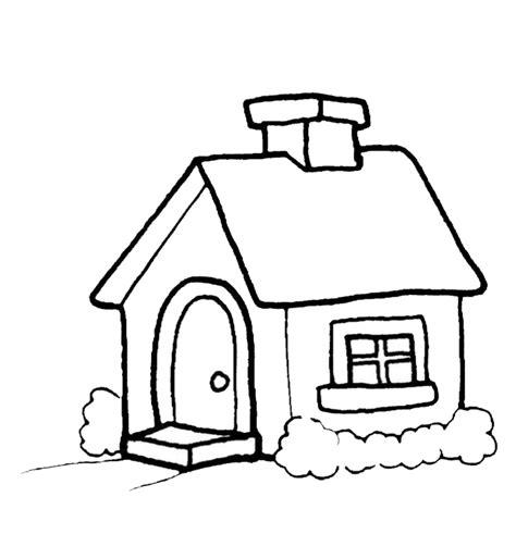 gambar mewarnai gambar rumah untuk anak