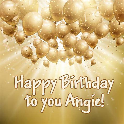 angie happy birthday