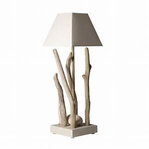 Lampe Bois Design : lampe bois flott galet lampe design ~ Teatrodelosmanantiales.com Idées de Décoration