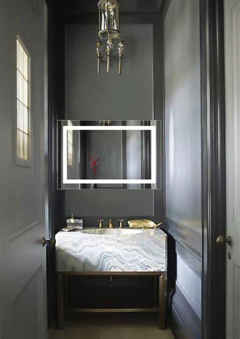 24 Bathroom Mirror led lighted 24 x36 bathroom mirror with dimmer defogger