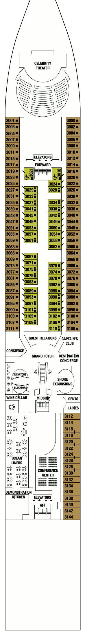 constellation deck plan 8 constellation deck plans