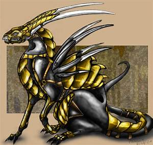 Armored Dragon - colored by elite-dragons on DeviantArt