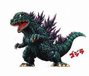 Chibi Godzilla Drawing | www.pixshark.com - Images ...
