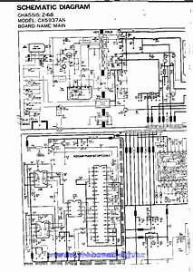 54gt 25sc Television Schematic Diagram Manual