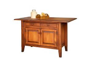 amish furniture kitchen island amish handcrafted medium country kitchen island 3 sided