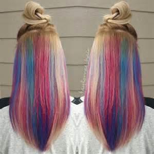 Hidden Rainbow Hair Color