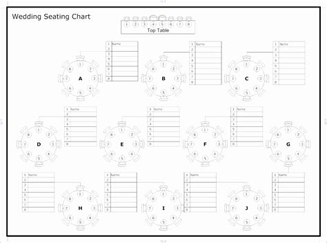 wedding seating chart template excel 6 wedding seating chart template excel exceltemplates exceltemplates