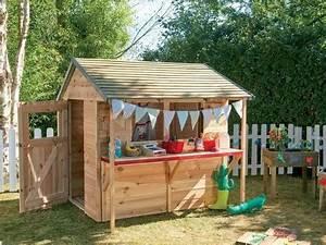 Cabane Exterieur Enfant : cabane en bois pour enfant cabane jardin enfant acheter ~ Melissatoandfro.com Idées de Décoration