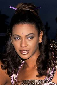 Beyonce with dark hair from the Destiny's Child days. What ...