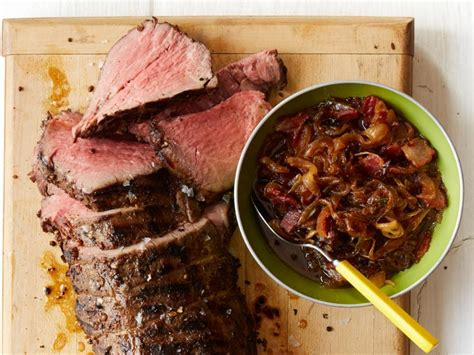 peppered beef tenderloin  bacon onion jam recipe