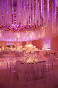 pink wedding decorations picture of pink and purple hanging wedding decor ideas