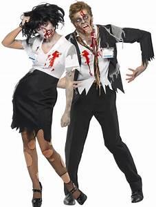 Halloween Paar Kostüme : zombiekost m b roangestelltenpaar halloween paarkost me und g nstige faschingskost me vegaoo ~ Frokenaadalensverden.com Haus und Dekorationen