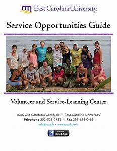 Vslc Service Guide By Ecu Volunteer And Service