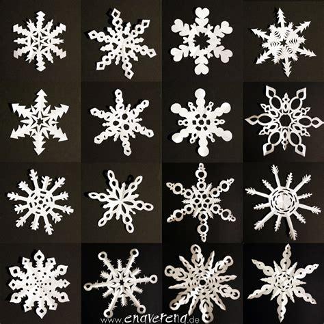 schneeflocken basteln papier sechseckige schneeflocken aus papier anleitung handmade kultur