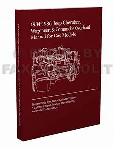 1984 Jeep Cherokee Wagoneer 2 8l V6 Engine Overhaul Manual