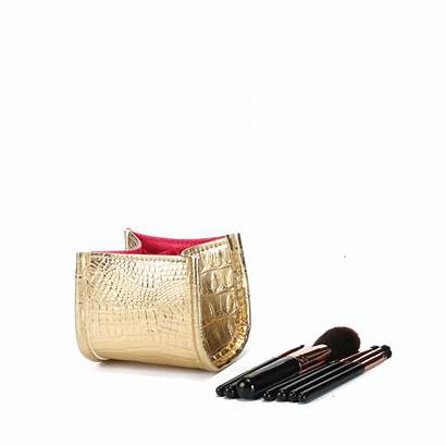 Cosmetic Pencils Crocodile Organizer Brush Pen Holder