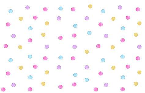 Kids Watercolour Polka Dot Wallpaper Mural - Murals Wallpaper