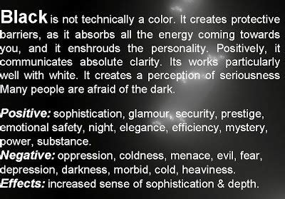 the meaning of the color black meaning of the color black quotes about the color black
