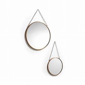 Miroir Rond Cuivre : miroir rond a suspendre 4 id es de d coration int rieure ~ Edinachiropracticcenter.com Idées de Décoration