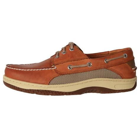 genuine leather boat shoes genuine sperry 39 s stain water resistant leather casual