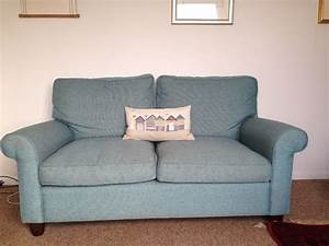 Laura Ashley Sofa : laura ashley teal blue sofas x2 in helston cornwall ~ A.2002-acura-tl-radio.info Haus und Dekorationen