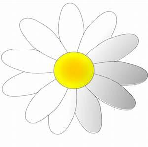 clipartist.net » Clip Art » daisy flower 8 art SVG