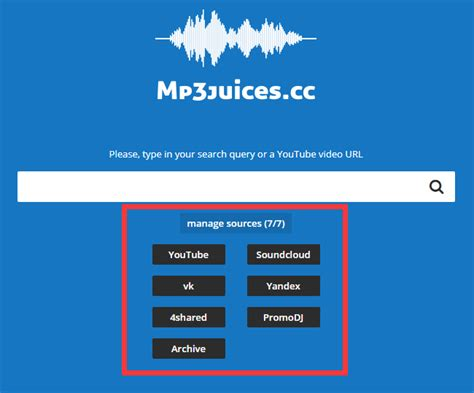 Just type in your search query, choose the sources you would like to search on and click the search button. Mp Juice Download Video