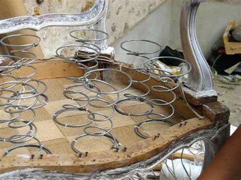 refaire une chaise ressorts guindage des ressorts 1 utilisation des