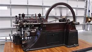 One Of The First Four Cycle Gas Engines - The Otto Silent 7 Hp 1884