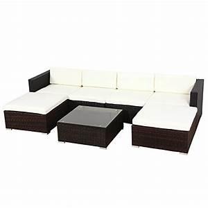Rattan Lounge Set Braun : poly rattan lounge gartenset sofa garnitur polyrattan gartenm bel xl braun m bel24 ~ Bigdaddyawards.com Haus und Dekorationen