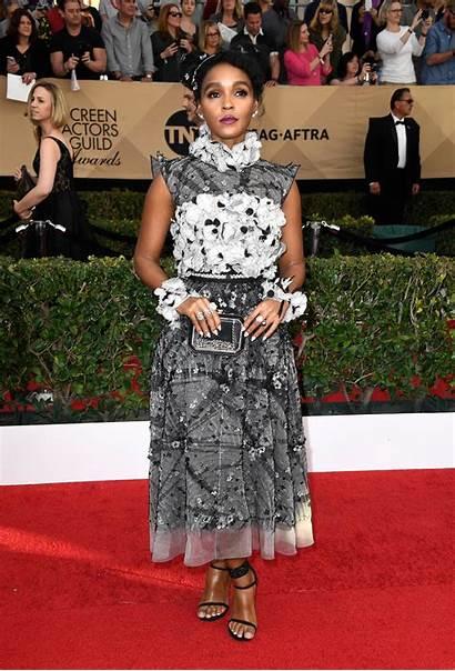 Janelle Awards Monae Sag Carpet Chanel 23rd