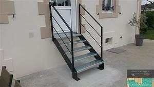 Escalier Exterieur Metal :  ~ Voncanada.com Idées de Décoration