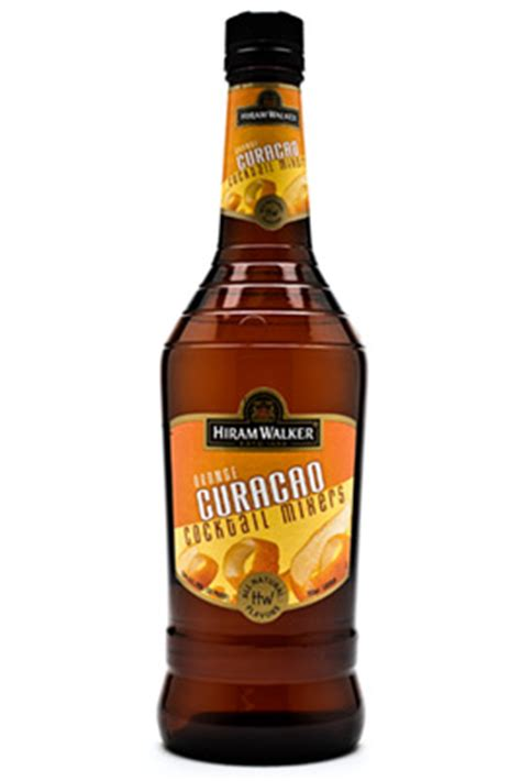 hiram walker orange curacao liqueur