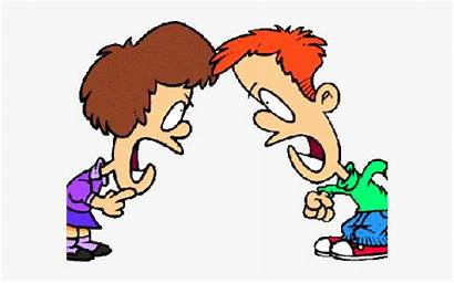 Fighting Clipart Brother Sister Cartoon Siblings Brothers