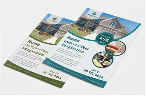 Estate Brochure Template by 10 Professional Real Estate Brochure Templates Free