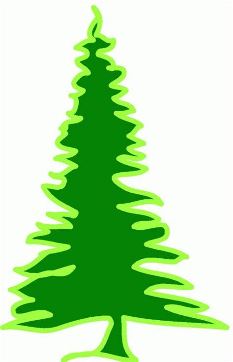 gruener grosser tannenbaum ausmalbild malvorlage gemischt