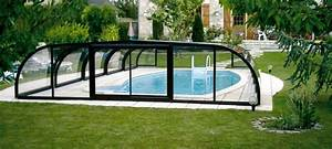 Abri de piscine mi haut Abri piscine Abrisud Fabricant d'abris de piscine