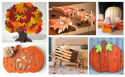 fall woodworking project ideas