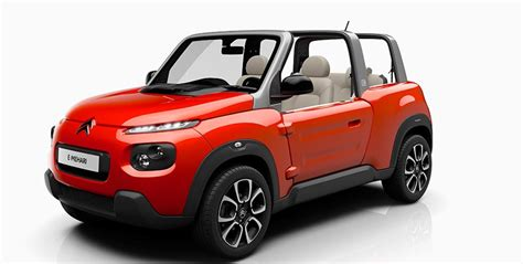 Citroen's All-electric E-mehari Echoes Adaptability Of The
