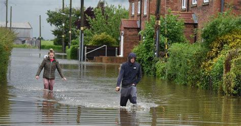 emergency services evacuate homes  wainfleet due
