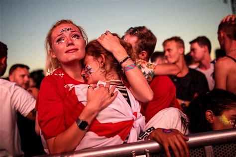 england fans heartbroken  dramatic defeat  croatia