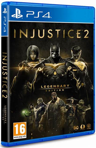 Injustice Legendary Ps4 Edition