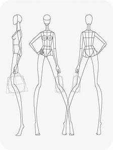 41 Best Printable Templates Fashion Figure Templates