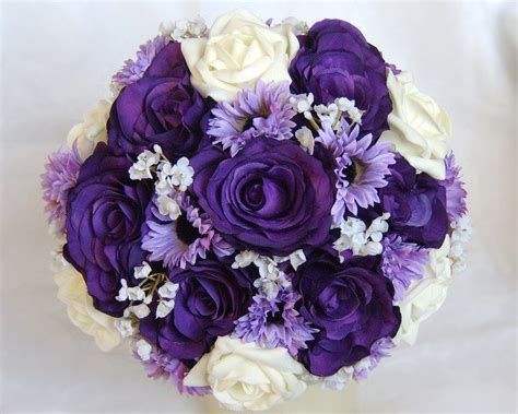 Purple Wedding Bouquets Small Design 12 On Home Gallery