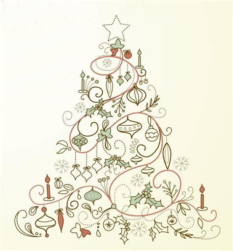vintage christmas tree printables