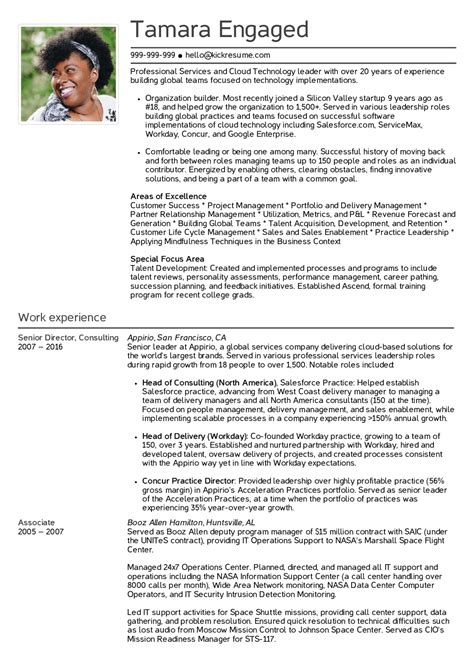 Senior Project Manager Resume Summary by Resume Exles By Real Senior Engagement Manager