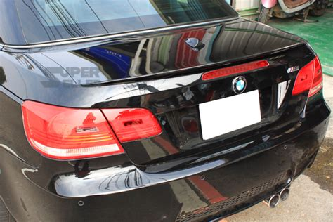 Painted E93 Bmw Convertible Performance Type Rear Trunk